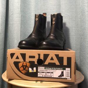 Ariat boots heritage Zip Black Leather